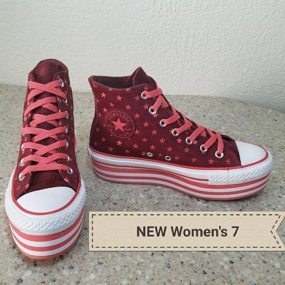 3e694ce391f7 NEW RARE Converse All Star Women s 7